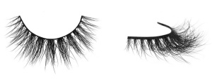 velour mink lashes it's sho fluffy!