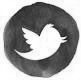 twitter logo mono
