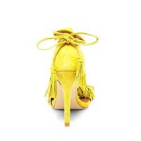 Steve Madden Sassey in Yellow Suede2