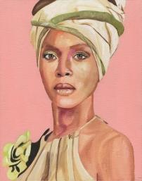 Erykah Badu Painting