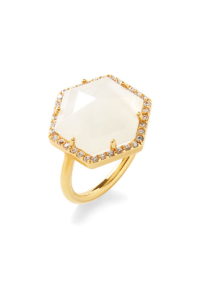 Olivia & Grace Hexagon Ring